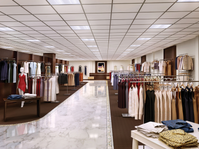Retail LED lighting example