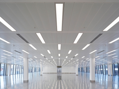 Office Space LED lighting retrofit